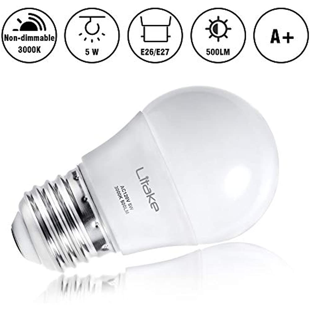 A15 Led Bulbs 5w 50w Equivalent Appliance Light For