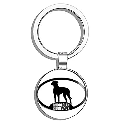 Amazon Com Hj Media Oval Rhodesian Ridgeback Silhouette Dog Breed