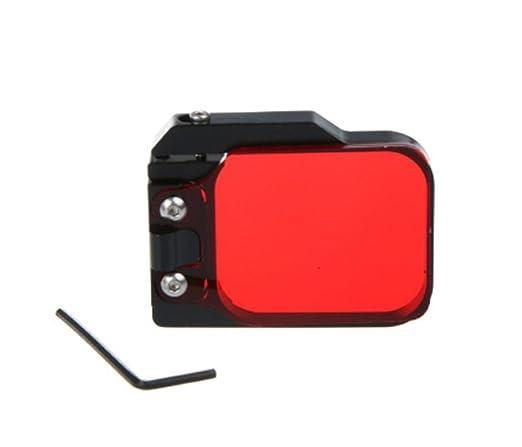Filtro rojo montable de repuesto Hazziha para carcasa de ...