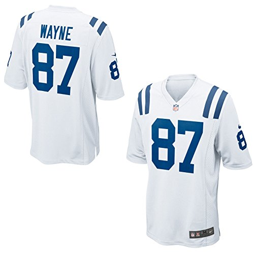 Reggie Wayne Indianapolis Colts Nike White Game Jersey - Men's Small