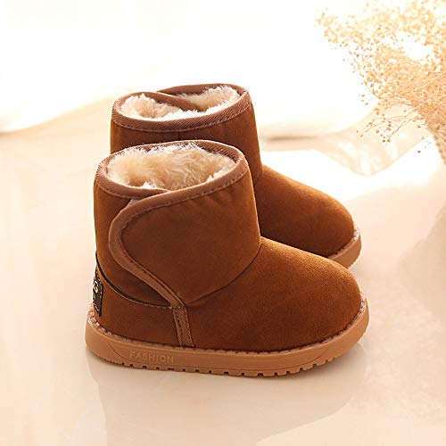 PENGYGY Baby Shoes New Fashion Cute Toddler Winter Baby Child Style Cotton Boot Boys Girls Warm Snow Boots by Pengy--Shoes (Image #3)