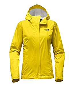 The North Face Women's Venture 2 Jacket (X-Small, Acid Yellow)
