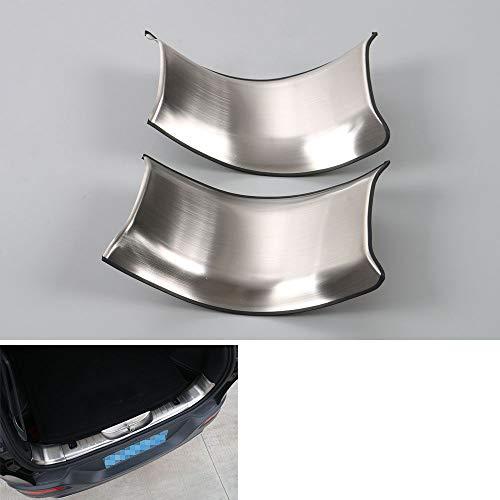 FidgetFidget Door Sill Guards Plates Side Rear Tail Trunk Protector Trim Cherokee 14-16