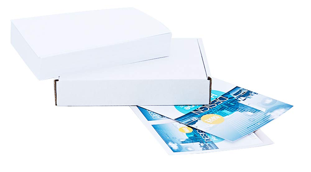 White Cardstock Paper 5'' x 7'', 100 Sheets, 80lb Cover (220gsm), Blank