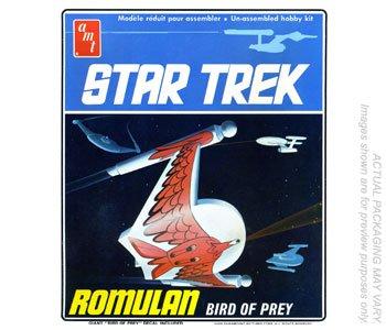 AMT Star Trek Romulan Bird Of Prey (Romulan Ship)