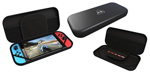 Nintendo Switch Carrying Case Protective EVA Hard Shell - Black