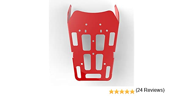 100-011-Red Immix Racing Cargo Rack Luggage Carrier Utility Rear Tail Holder Red Powdercoat fits 12-16 Honda CRF250L