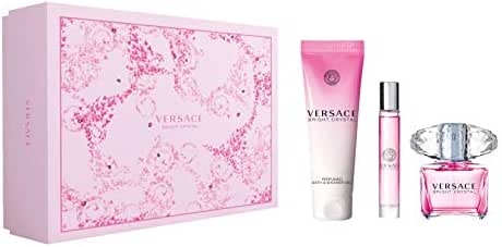 Bright Crystal By Versace 3 PCS SET For Women's