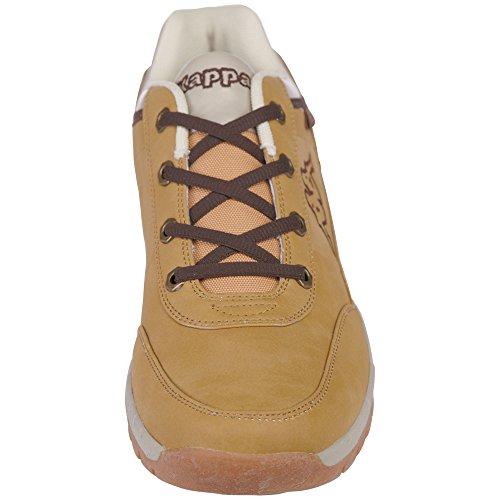 Kappa Unisex Adults' Bright Light Low-Top Sneakers Beige (4141 Beige 4141) nS2CQx
