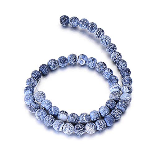 Wrist Decoration 6mm 8mm 10mm Organic Stone Beads for Jewellery Making Matte Lave Liger Attention Round Stone Beads DO-IT-Yourself Bracelet Accessories