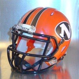 East Lake North Rangers 2012- Ohio High School Football MINI Helmet by Gridiron Football Helmets