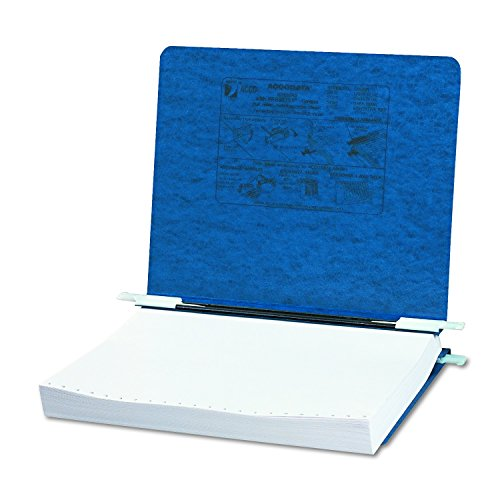 ACCO Pressboard Hanging Data Binder, 8.5 x 11 Unburst Sheets, Dark Blue ()