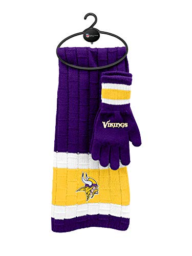 Glove Minnesota Vikings (NFL Minnesota Vikings Scarf & Glove Gift Set)
