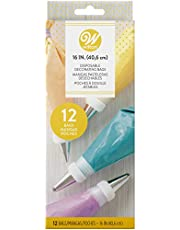 Wilton Disposable Piping Bags, 40.6cm, Multicolored, 2104-1357