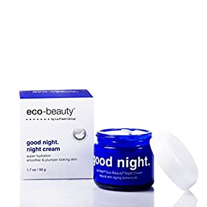 La Fresh Eco-Beauty Moisturizing Night Cream  Natural Face and Neck Moisturizer to Hydrate, Smooth and Revitalize Skin (1.7 oz)