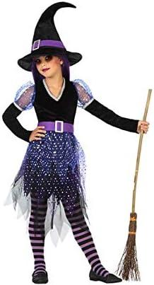 Atosa-55598 Disfraz Bruja para Niña Infantil, color violeta, 3 a 4 ...