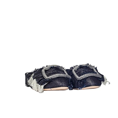 Casadei Women's 1G169K0201Y125154 Blue Denim Sandals 2014 newest cheap sale with credit card choice for sale discount best prices discount reliable HNgTXFl