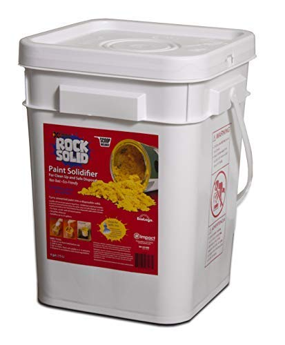 25 Gallon Powder - Rock Solid Paint Hardener, Pail with Scoop, 4 Gal.