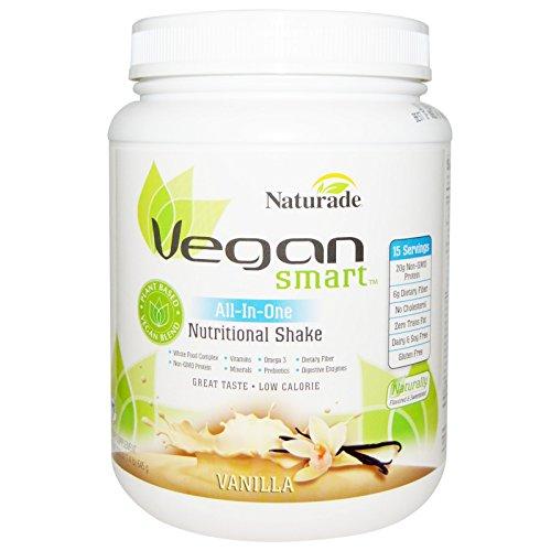 Vegan Smart, VeganSmart, All-In-One Nutritional Shake, Vanilla, 22.8 oz (645 g) - 3PC