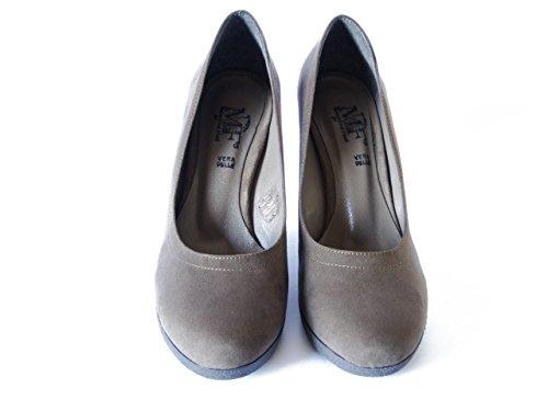 OSVALDO PERICOLI Women's Court Shoes Taupe Sv8xLiZbyE