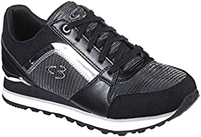 Concept 3 by Skechers Women's Surprise Hit Lace-up Fashion Sneaker