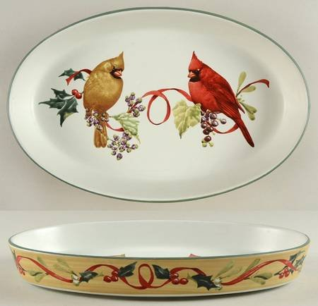 Casserole Holly (LENOX Winter Greetings Everyday ~ 13