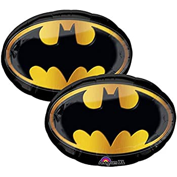 Amazon.com: Batman Fiesta de cumpleaños globo Suministros ...