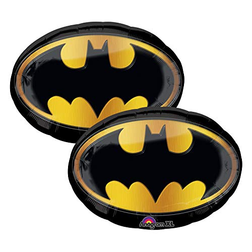 Set of 2 Batman Emblem Jumbo 30