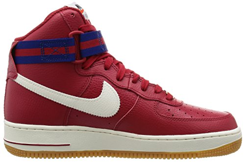 Nike Air Force 1 Hoch '07 Lv8 Mens Style: 806403 Rot / Gym Red / Schiefer-Tief Royal