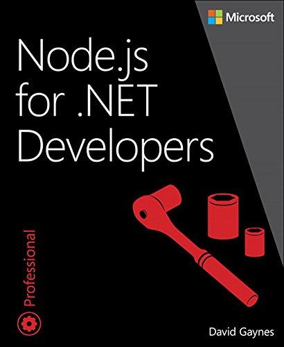 Node.js for .NET Developers Front Cover