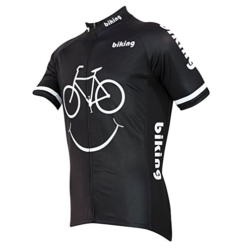 (Alien Sportswear Men Cycling Jersey Bicycle Bike Cycle Short Sleeve Jersey)