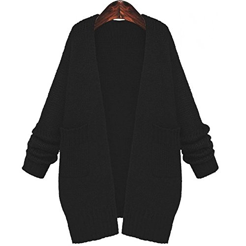 3 色 レディース OL 高級 ロング コート カーディガン ジャケット おしゃれ セレブ (2 サイズ)