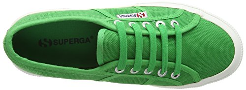 Superga 2750 Jcot Classic, Zapatillas Infantil Verde (Island Green)