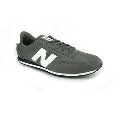 cheap for discount b5fda 06760 New Balance U410 Slim Vintage Unisex Retro Running Trainers - Grey, Size 4  UK