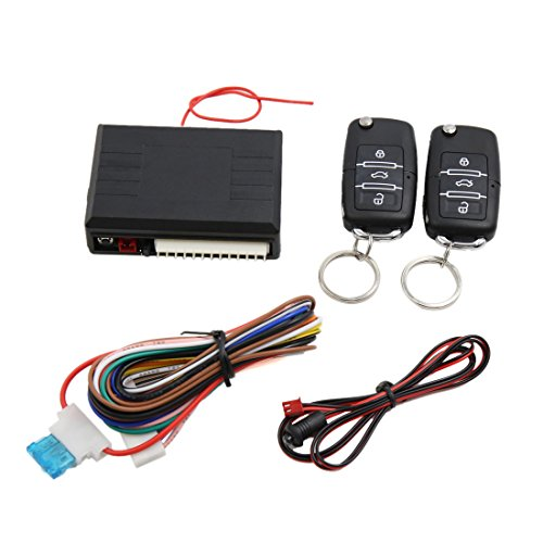 uxcell Universal Car Remote Control Central Kit Door Locking Keyless Entry System Car Alarms