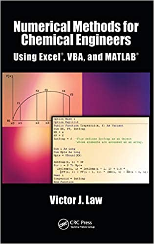 Numerical Methods for Chemical Engineers Using Excel, VBA