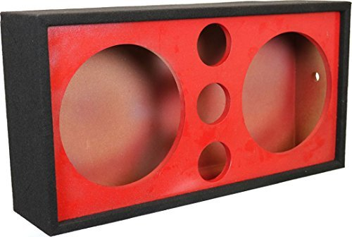 DEEJAY LED 2X12TRIPPLETWEET Chuchera Triple Tweeter, 12'' Red Box by DEEJAYLED