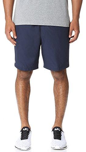 Lacoste Mens Sport Tennis Shorts Short, Navy Blue, M