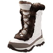 The North Face Nuptse Fur II Youth US 6 Ivory Winter Boot