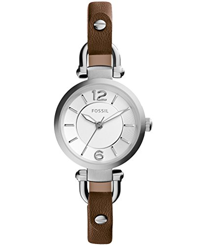 fossil women watches brown dial - 4