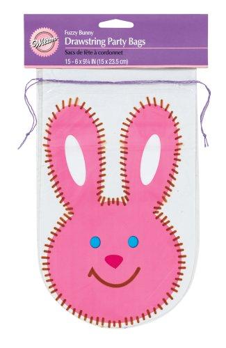 Wilton Drawstring (Wilton Fuzzy Bunny Drawstring Party Bags)