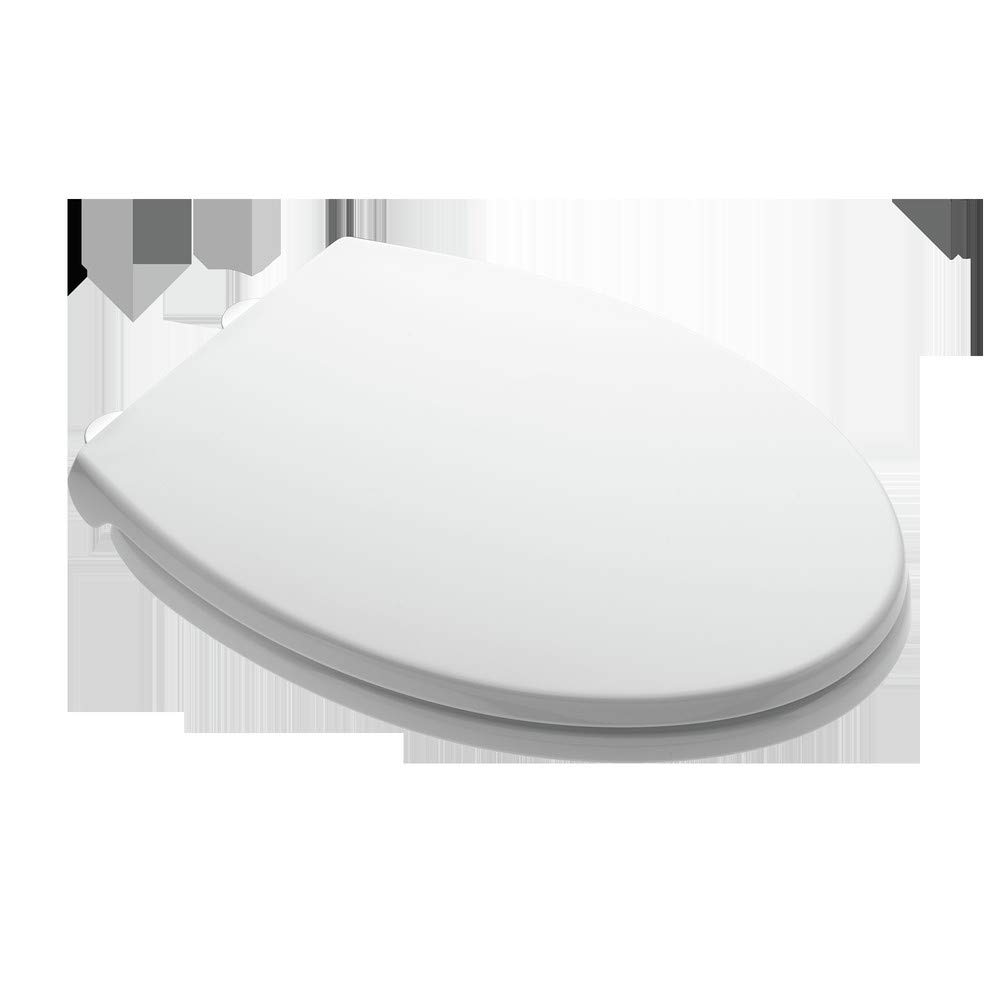 American Standard 5256A.65C Luxury Slow Close Elongated Toilet Seat with Lid, White