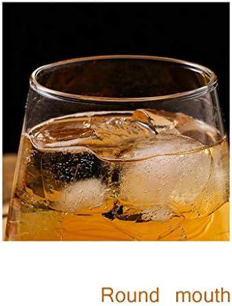 vasos cristal Claro prima de whisky Vidrios pasada de moda whisky vasos for beber jugo de Copa de cristal Copa de cristal de cerveza for los padres regalos del día Vasos de Agua ( Size : A )