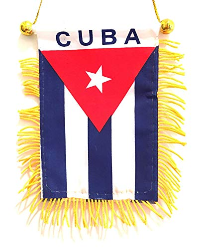 Cuba Flag Rear View Mirror auto Classic Cuba Flag Rear View Mirror Design,fit's All Makes and car Models, Cuban Pride for ur car, SUV, Truck or Home for ur self or a Gift