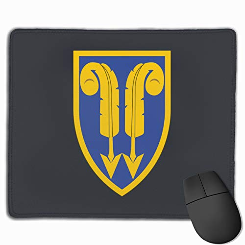 (22nd Support Command Gaming Mouse Pad Mat, Stitched Edges, Waterproof, Ultra Thick 3mm, Wide & Long Mouse Pad 25x30 )
