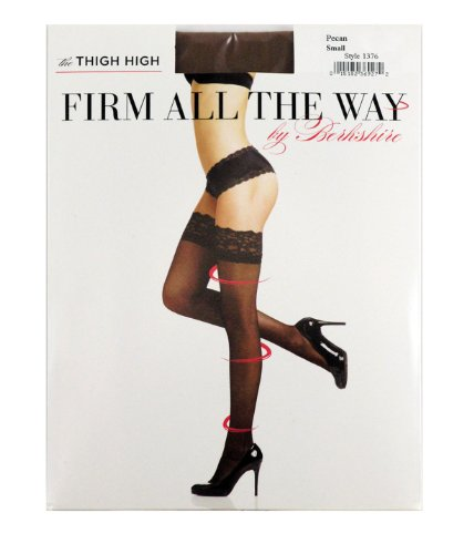 Berkshire Firm All The Way The Thigh Highs, Oatmeal, Small