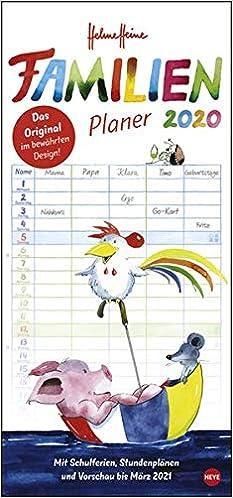 Familiens aktivitetskalender 2020