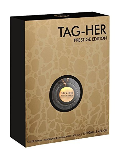 Armaf Tag Her Prestige 3.4 Eau De Parfum Spray for - Lotus Tag