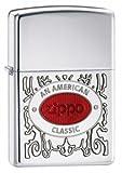 Zippo American Classic Armor High Polish Chrome Lighter