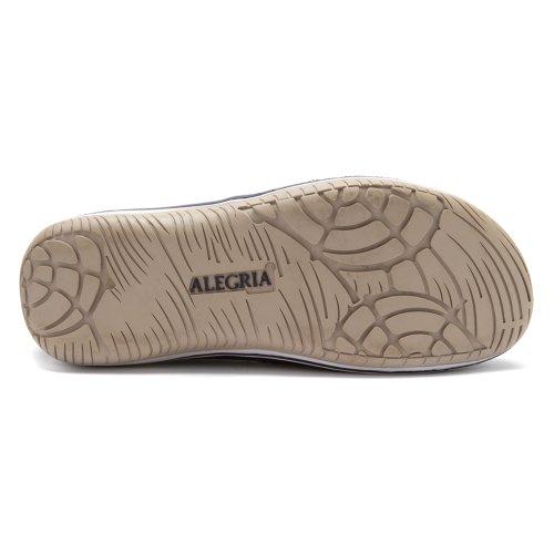 Alegria Menns Aaron Slip-on Navy Semsket Skinn